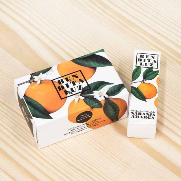 Cosmética natural naranja