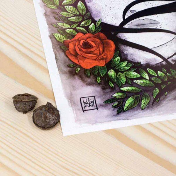 Ilustración Pichel Rosas