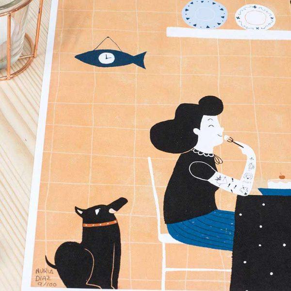 Ilustración Nuria Diaz Cocina