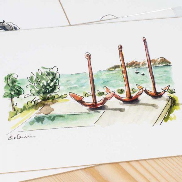 Ilustraciones de Vigo