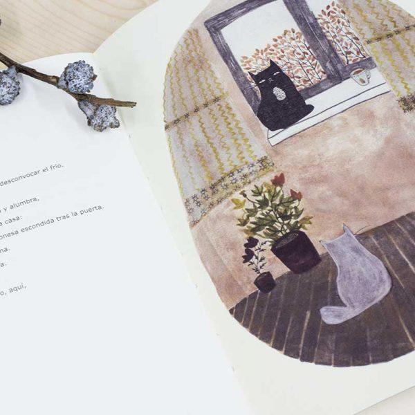 Libro de poemas e ilustracion