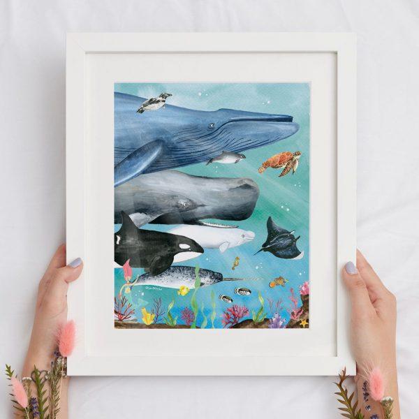 ilustracion oceano