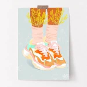 ilustracion Sneakers